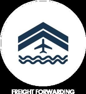 Icone servizi freight forwarding